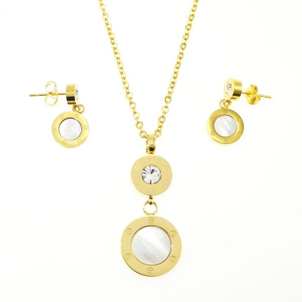 1327ISS Set of Necklace and Earring