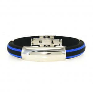 5537IST, Steel x Rubber Plain Blue stripe, 449.75