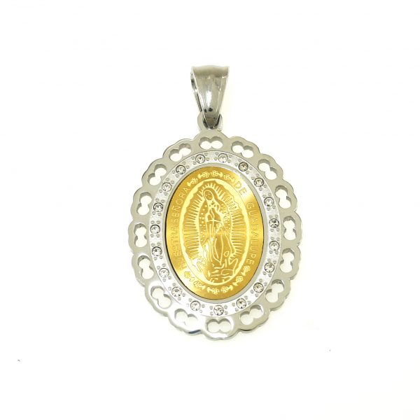 7345ist guadalupe pendant imono steel jewelry 7345ist guadalupe pendant mozeypictures Choice Image